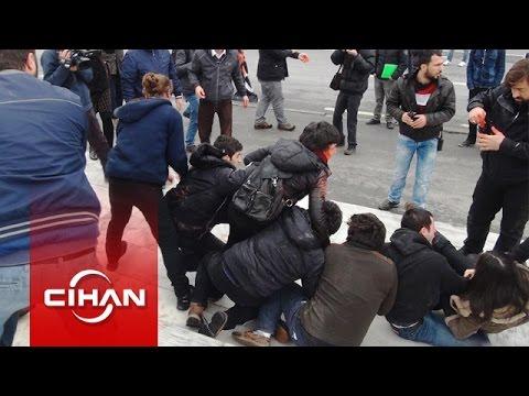 Gezi Parkı'nda Berkin Elvan eylemine polis müdahalesi