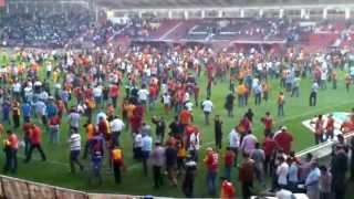 Gaziantepspor 0 - 1 Galatasaray.. (Maç Sonu Olaylar) 28.04.2013