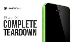 How to: The iPhone 5C Complete Full Teardown