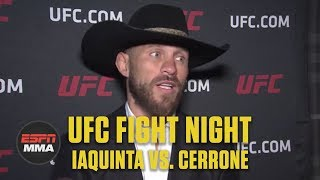 Donald Cerrone: It's time to get the belt | UFC Fight Night | ESPN MMA