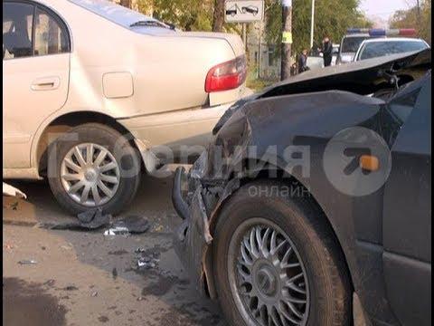 По вине хабаровской автолюбительницы после ДТП в больницу попала женщина с ребенком. MestoproTV