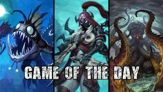 [Hearthstone] Wall of the Undead Mill Rogue - Game of the Day #21 vs Mill Warrior