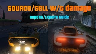 GTA V Online guide: Max profit in import/export vehicle cargo   PC (solo)