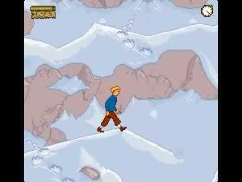 Soluce Tintin au Tibet partie 4/9 - Descente + Montagne enneigée