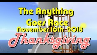 Anything Goes Race 2018  11  16  Thanksgiving
