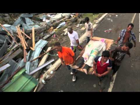 Super Typhoon Yolanda (2013) as seen from Texas Philippine Chorale Ensemble
