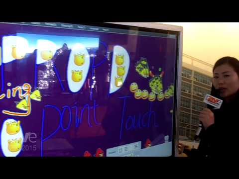 ISE 2015: ProPad Displays Interactive LCD Touch Screen for Conference Rooms and Education