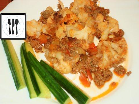 Цветная капуста с мясом в духовке. Турецкие рецепты. Вкусно и просто /Kiymali Karnabahar firinda