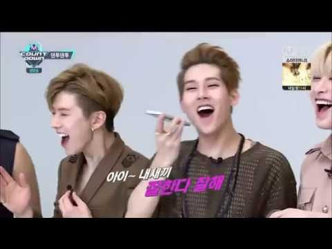 160616 Monsta X phonecall with SEVENTEEN's Hoshi & Seungkwan (ENG SUB)