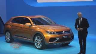 2013 LA Auto Show - Volkswagen Think Blue Presentation
