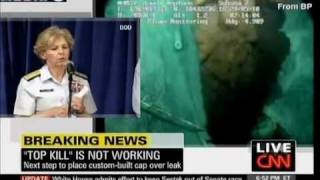 BP Oil Press Conference Prank Invasion on CNN .. by EastCoastBob