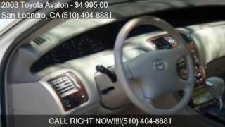 2003 Toyota Avalon XL Sedan 4D for sale in San Leandro, CA 9