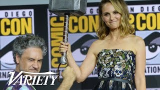 Official Marvel Comic Con Panel in Hall H Highlights