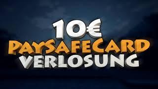 2x10 € PSC VERLOSUNG ABOVERLOSUNG DANKE FÜR ALLE  WIN MINECRAFT FORTNITE DEUTSCH