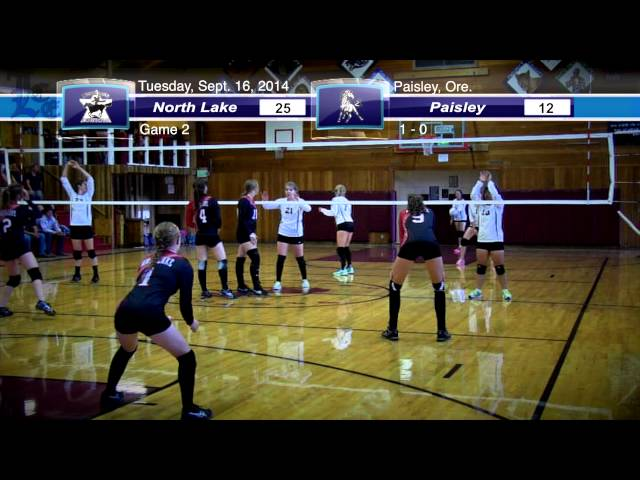 Volleyball highlights: North Lake at Paisley 9-16-2014