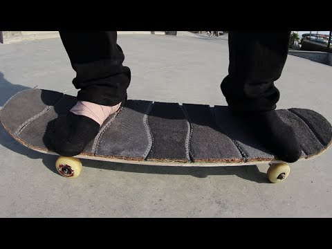 SHOE INSOLES GRIP TAPE!   YOU MAKE IT WE SKATE IT EP 165