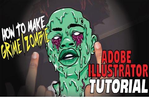 Как сделать эффект зомби на