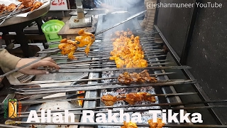 Allah Rakha Tikka Wala   Gujranwala Street Food