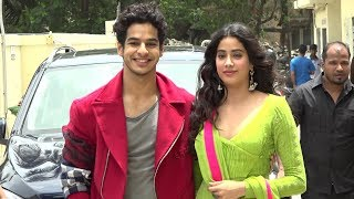 Jhanvi Kapoor And Ishaan Khattar GRAND Entry At DHADAK Movie Trailer Launch