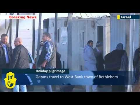 Gaza Christians Bethlehem bound: Israel allows Palestinians to travel for Christmas holiday