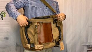 Convertible Canvas Travel Bag Hiking Camping Bag Rucksack Backpack by ibagbar review