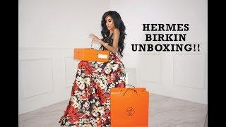 Hermes Birkin Unboxing   Lilly Ghalichi Mir