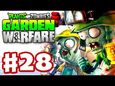 Gardens & Graveyards - Plants vs. Zombies: Garden Warfare - Gameplay Walkthrough Part 28 (Xbox One)