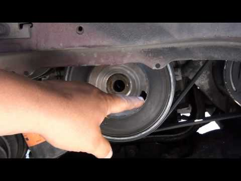 How to replace a crankshaft sensor on a grand prix gtp