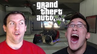 GTA 5 Online With Markiplier and Jacksepticeye Part 1: Yep, We