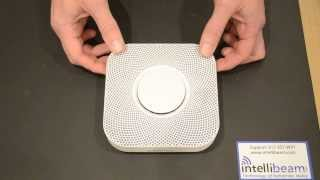 Nest Protect (Battery) WiFi smoke and carbon monoxide detector unboxing by Intellibeam.com
