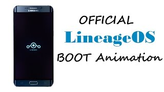 Official Lineage OS Boot Animation