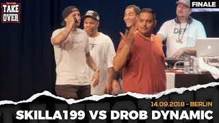 Skilla199 vs. Drob Dynamic Takeover Freestyle Contest | Köln 14.09.18 (Finale)