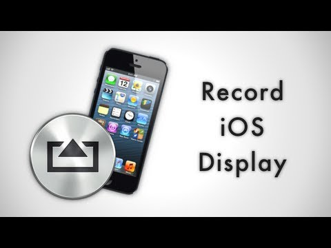 Record your iOS Display with AirServer