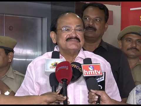 Venkaiah Naidu Watches Brahmotsavam - idlebrain.com