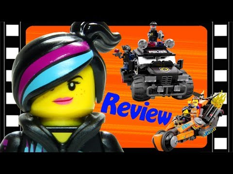 LEGO Movie Super Cycle Chase 70808 Review