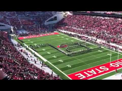 Ohio State Marching Band - Script Ohio - 11/5/2011 - vs Ind