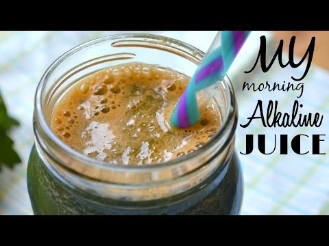 Easy & Healthy Breakfast in LESS than 5 minutes! | My Morning Alkaline Juice