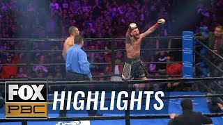 Caleb Plant emotional after winning world title for his late daughter | HIGHLIGHTS | PBC ON FOX