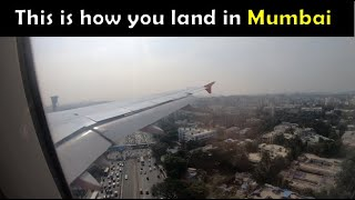 【4K】 Air Asia Scary Flight Landing in Mumbai! | Watch till the End