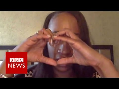 Philando Castile's partner Diamond Reynolds tells of grief - BBC News