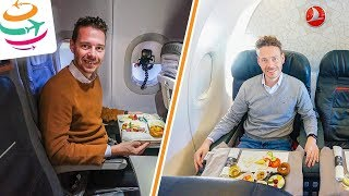 Turkish Airlines vs. Lufthansa Business Class A321 | GlobalTraveler.TV