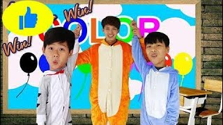 Kids Go To School Learn Colors Strawberry |  Are You Sleeping Brother John Song for Kids 201  # 523