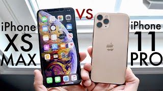 iPhone 11 Pro Vs iPhone XS Max! (Comparison) (Review)