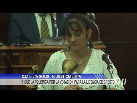 """Lía Solís: """"Francolini tiene todo el respaldo institucional y político para hacerse cargo del Ejecutivo Municipal"""""""