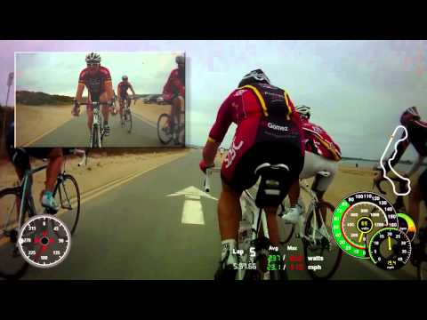 Paceline Workout - 2011/06/08 (Part 5/6) - Fiesta Island
