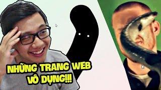 NHỮNG TRANG WEB VÔ DỤNG NHẤT THẾ GIỚI!!! (Sơn Đù Vlog Reaction)