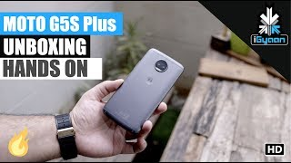 Moto G5s Plus Unboxing and First Hands On Dual Camera