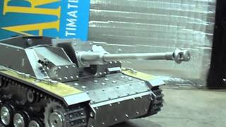 StuG III Recoil Demonstration