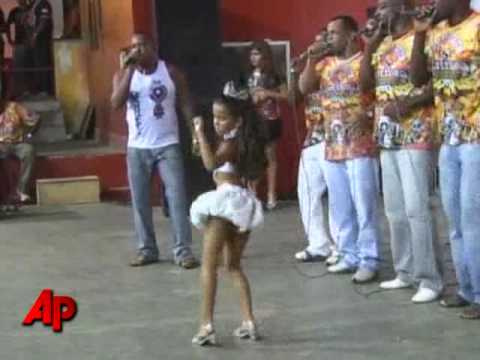 Preteen As Sexy Samba Queen Stirs Controversy video