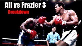 The Thrilla in Manila Explained - Ali vs Frazier 3 Breakdown